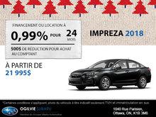 Louez la Subaru Impreza 2018