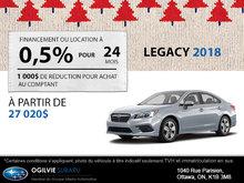 Louez la Subaru Legacy 2018