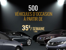 500 véhicules d'occasion