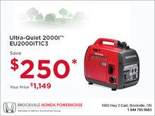 Honda - Ultra-Quiet 2000i