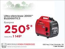 Ultra-silencieuse 2000i - Honda