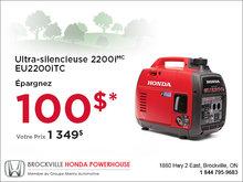 Ultra-silencieuse 2200i - Honda