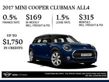 2017 MINI Cooper ALL4 Clubman