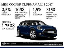La MINI Cooper ALL4 Clubman 2017