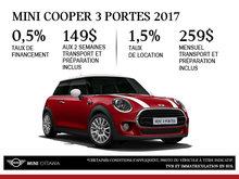 La MINI Cooper 3 portes 2017