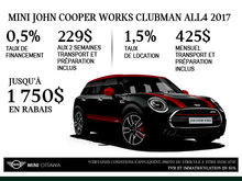 MINI John Cooper Works Clubman ALL4 2017