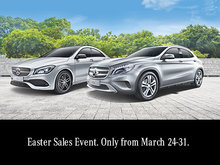 Easter Sales Event. Only from March 24-31.