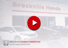 Brockville Honda - octobre