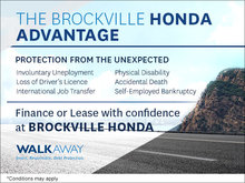 The Brockville Honda Advantage