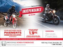 L'événement Retrouvez votre indépendance - Motos