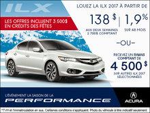 Conduisez l'Acura ILX 2017 aujourd'hui!