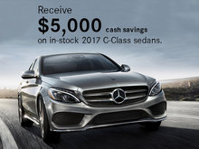 Save on 2017 C-Class Sedans