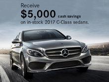 Save on 2017 C-Class Sedans
