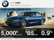Save on a Pre-Owned BMW