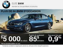 BMW d'occasion en rabais