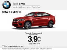 Conduisez le BMW X6 M 2018 aujourd'hui!