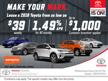 Toyotathon Sales Event at Mendes Toyota!