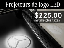 Projeteurs de logo LED à 225$