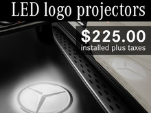 LED Logo Projectors for $225