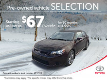 Pre-Owned Vehicles at Great Prices