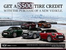 Get a $500 Tire Credit!