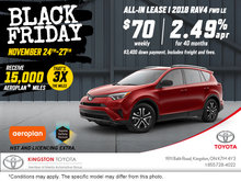 Black Friday - 2018 Toyota RAV4