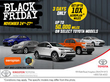 Black Friday at Kingston Toyota