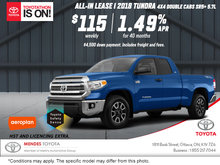 Get the 2018 Toyota Tundra Today
