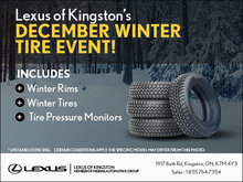 December Winter Tire Event!