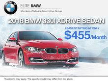 Get the 2018 BMW 330i xDrive Sedan
