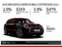 2018 MINI John Cooper Works Countryman ALL4