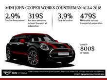 MINI John Cooper Works Countryman ALL4 2018