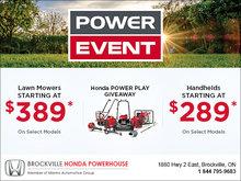 Honda Power Event