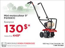 Mini-monoculteur - Honda