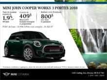 Mini John Cooper Works 3 Portes 2018