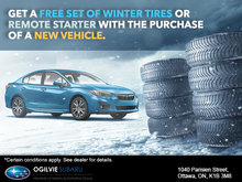 Get a Free Set of Tires or Remote Starter!