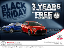 The Kingston Toyota Black Friday Event!