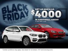 Black Friday at Elite BMW!