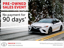 Pre-Owned sales event