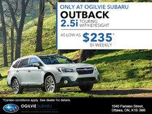 Outback 2.5i Touring