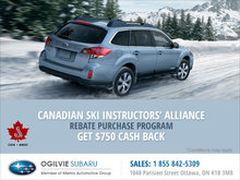 Canadian Ski Instructors' Alliance Rebate Purchase Program