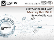Stay Connected with Morrey Infiniti