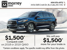 Get More Value with Morrey Infiniti!
