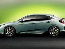 Honda Unveils News 2017 Honda Civic Hatchback