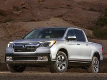 The new Honda Ridgeline is Now in the Showroom