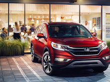 Honda unveils 2017 Honda CR-V