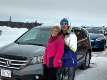 I was very satisfied with the service of Denis Côté and Diane Vigneault. A big thank you!