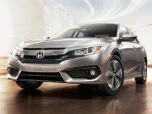 La Honda Civic 2016 est la voiture nord-américaine de l'année