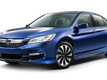 Une Honda Accord hybride remaniée pour 2017
