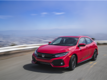 Honda Civic Hatchback 2018 : la Civic utilitaire
